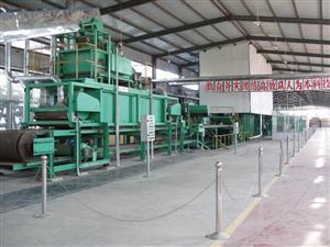 麥秸稈中密度板生產線